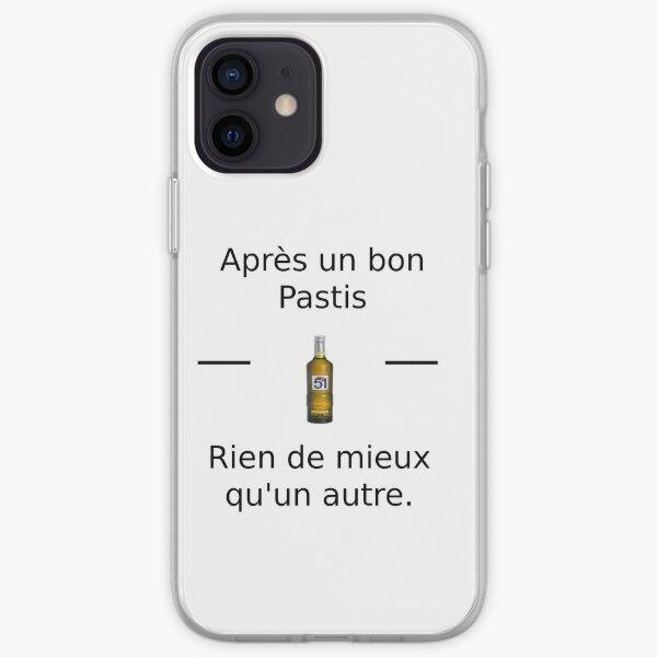 T-Shirt Pastis Coque souple iPhone