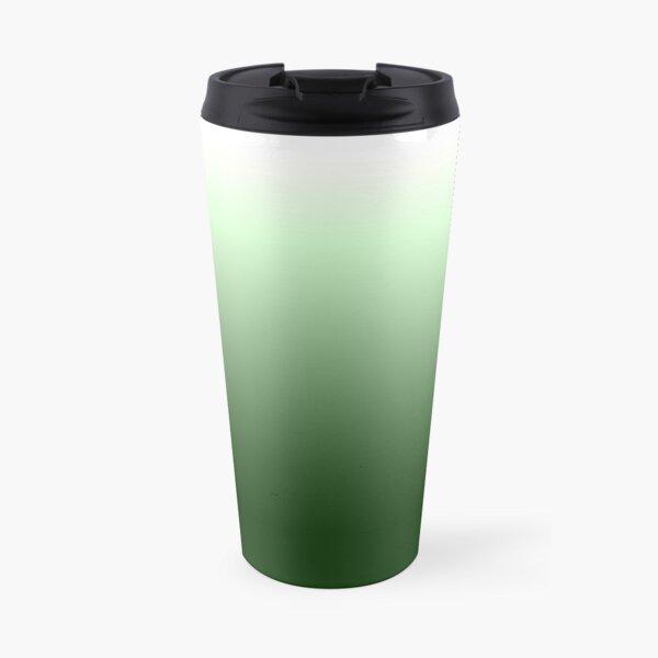 Green gradientt Travel Mug
