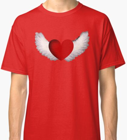 Heart with Wings Classic T-Shirt