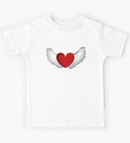 Heart with Wings Kids Clothes