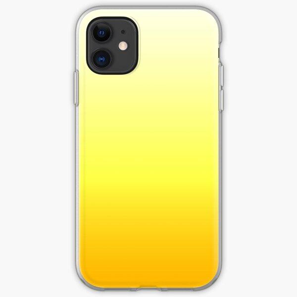 Oranger Farbverlauf iPhone Flexible Hülle