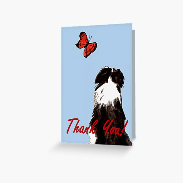 Friendly Fascination - Thank You Card Greeting Card