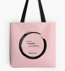 Inspirational Quote About Creativity Tote Bag