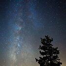 Milky Way Above Lake Tahoe by Zohar Lindenbaum