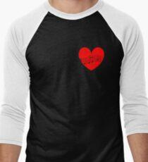 Musician's Heart Men's Baseball ¾ T-Shirt