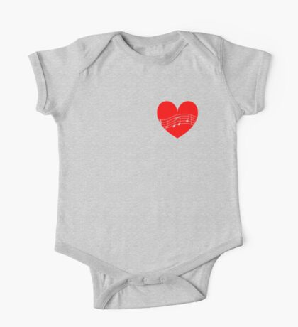 Musician's Heart Kids Clothes