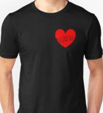 Musician's Heart Unisex T-Shirt