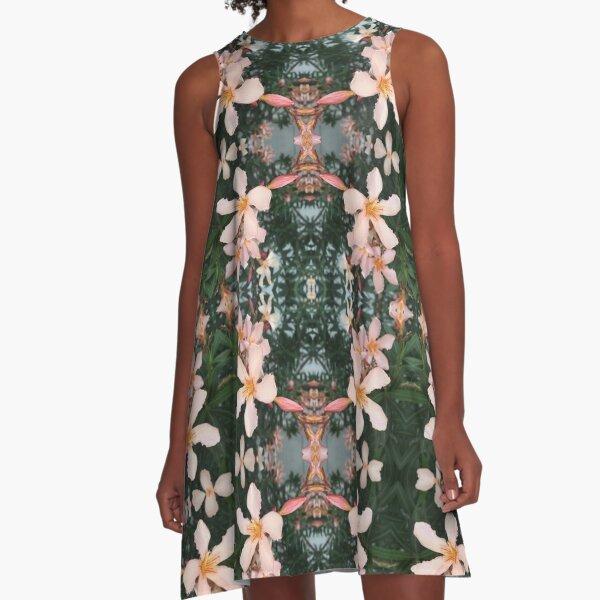 Oleander A-Linien Kleid