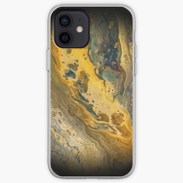 Fluid Planet 01 iPhone Soft Case