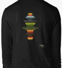 The Obfuscated Cross  (T-shirt) Long Sleeve T-Shirt