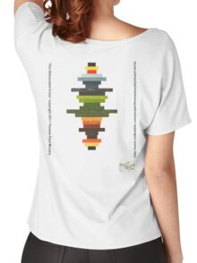 The Obfuscated Cross  (T-shirt) Women's Relaxed Fit T-Shirt