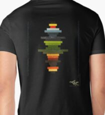 The Obfuscated Cross  (T-shirt) Mens V-Neck T-Shirt