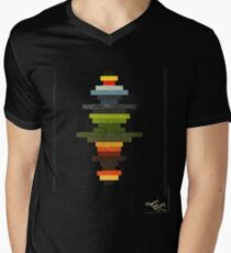 The Obfuscated Cross  (T-shirt) Men's V-Neck T-Shirt