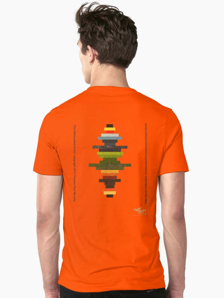 The Obfuscated Cross  (T-shirt) by Thomas Murphy