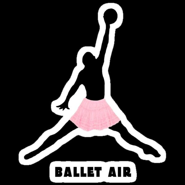 Ballet Air Street Art by dashiner