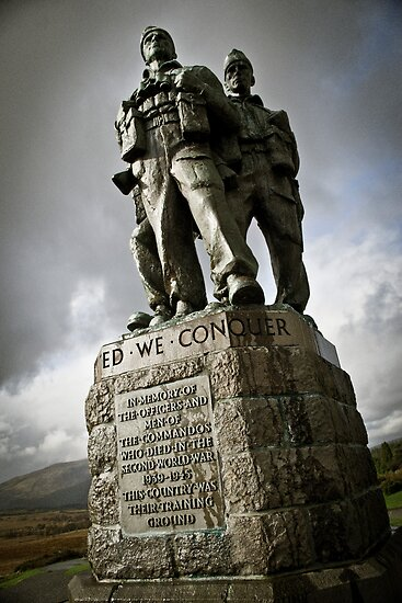 The Scottish Highlands No.7 - United we Conquer by Chris Cardwell