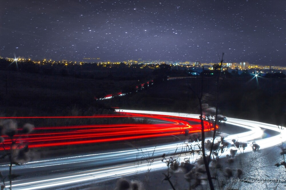 Light Trails by Tek-Photography