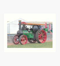 Steam Tractor Royal Hobart Show  - No 14 Calendar 2012 Art Print
