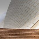 Sydney Opera House Abstract by Eve Parry