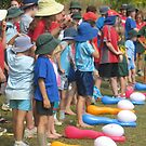 Eggciting - Exciting egg and spoon race - Kennedy, North Queensland, Australia by myhobby