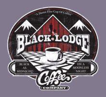 Black Lodge Coffee Company (distressed)