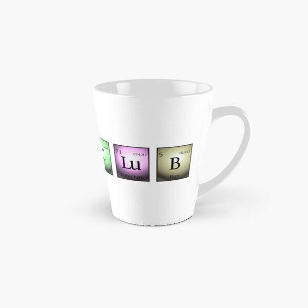 nerds club 2 in chemischen Elementen... Tasse (konisch)