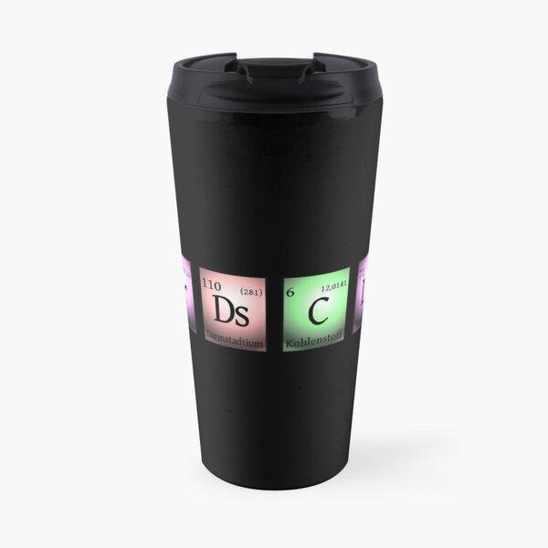 Black nerds club 2 in chemischen Elementen... Thermobecher