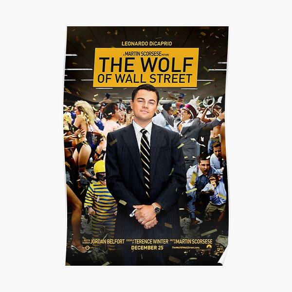 Lobo de Wall Street Póster