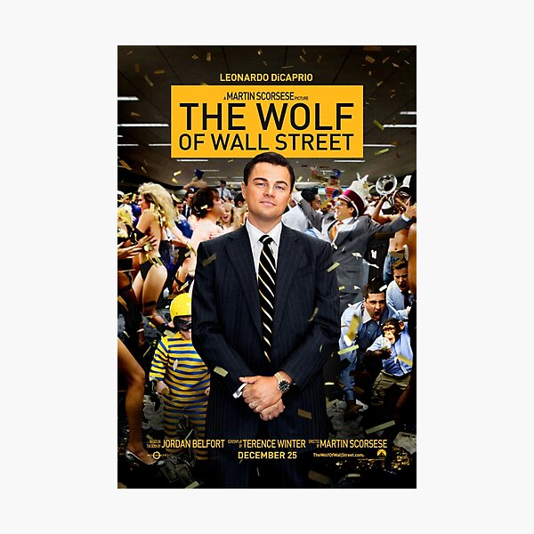 Wolf Of Wall Street Photographic Print