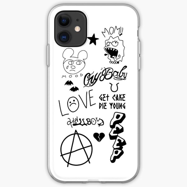 Lil Peep Tattoo's iPhone Case iPhone Soft Case