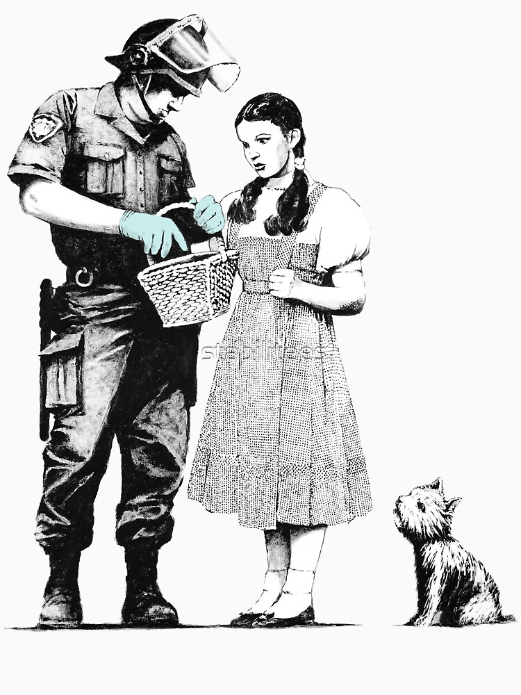 """Banksy """"Stop and Search"""" by stabilitees"""