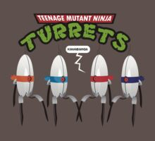 Teenage Mutant Ninja Turrets