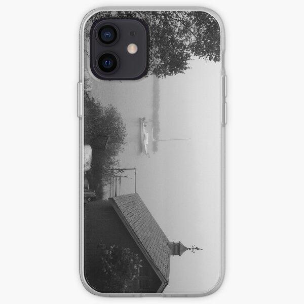 """""""Misty Morning, Sleepy Village"""" iPhone case iPhone Soft Case"""