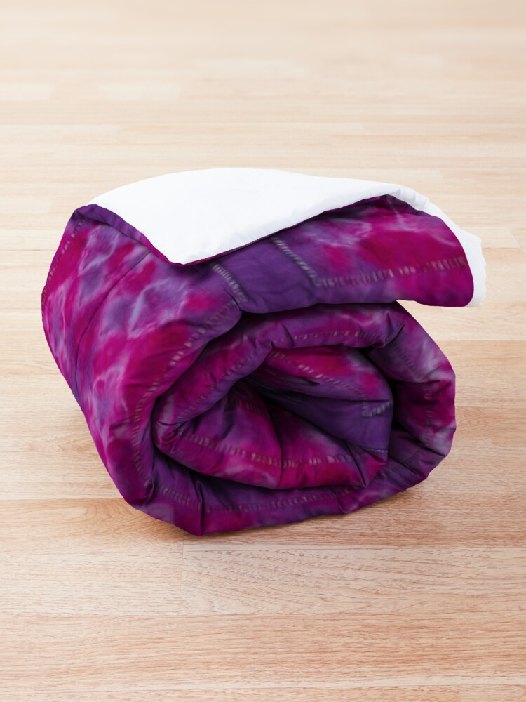 Alternate view of Chickpea Shibori Pink Comforter