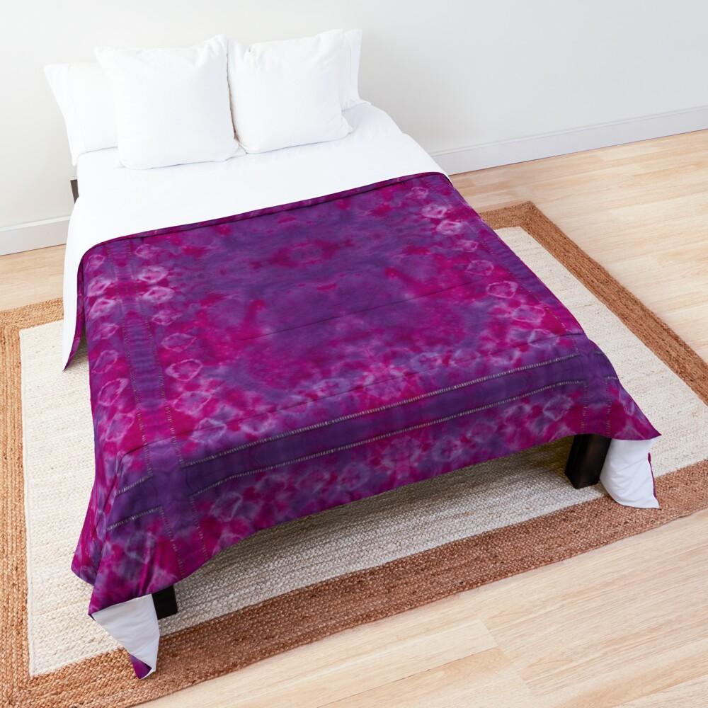 Chickpea Shibori Pink Comforter