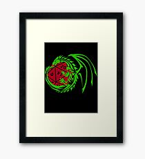 Dungeons and Dragons - Custom Colors Available! Framed Print