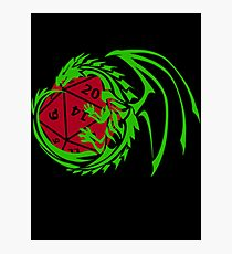 Dungeons and Dragons - Custom Colors Available! Photographic Print