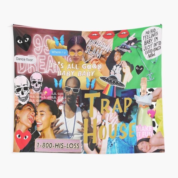 HI$ LOSS FASHION COLLAGE Tapestry