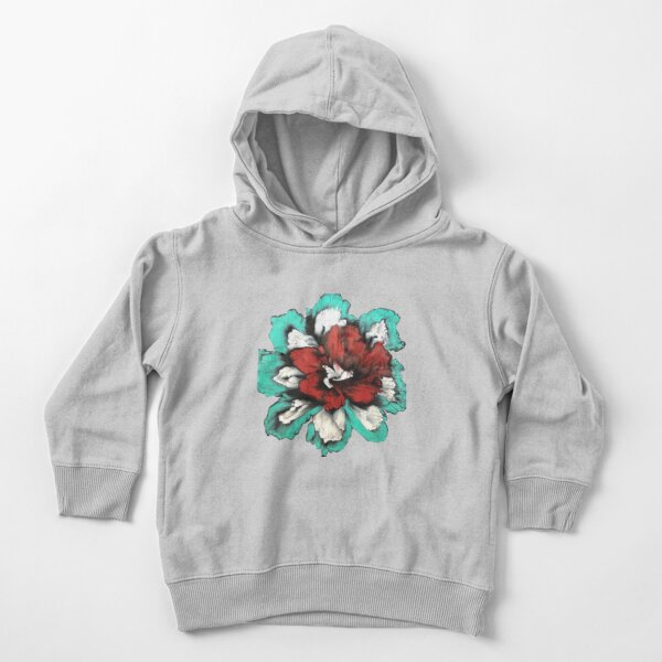 Red Orchid Toddler Pullover Hoodie