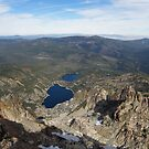 Sierra Buttes Lookout View by Patty Boyte