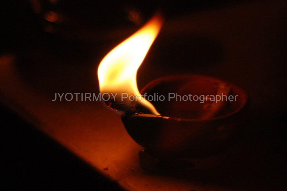 Diwali Diva Lamp by JYOTIRMOY Portfolio Photographer