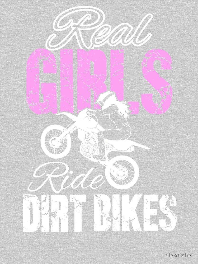 Funny Motocross Real Girls Ride Dirt Bikes by alexmichel