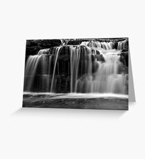 Waterfall Glen Closeup Greeting Card
