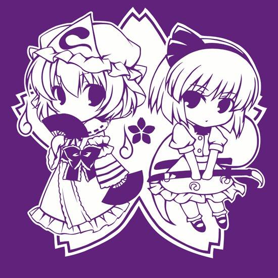 TShirtGifter presents: Touhou - Yuyuko & Youmu