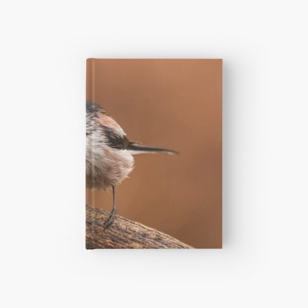 Long Tailed Tit Hardcover Journal