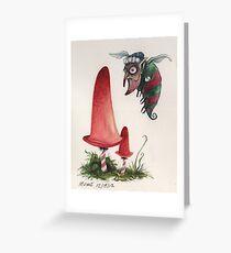 Bah Hum Bug Christmas Card Greeting Card