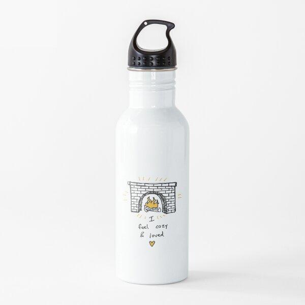 I Feel Cozy & Loved Water Bottle