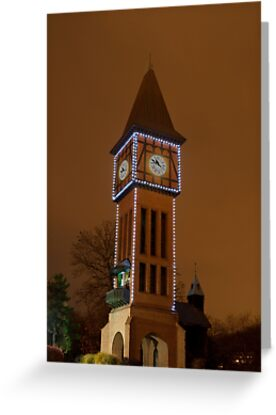 Clock Tower Main Strauss KY by Phil Campus