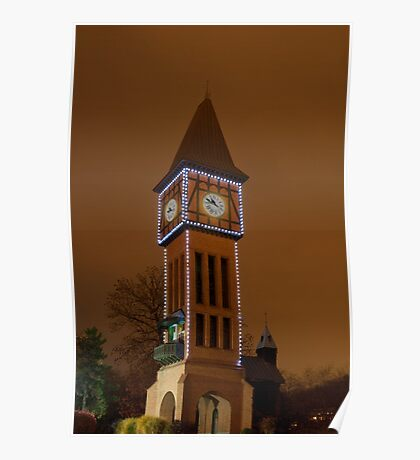 Clock Tower Main Strauss KY Poster