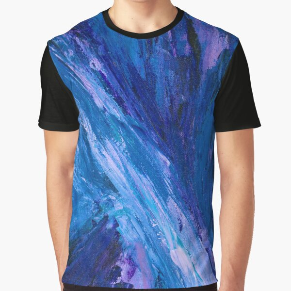 Intuitive Abstract Water Landscape by Courtney Hatcher Graphic T-Shirt